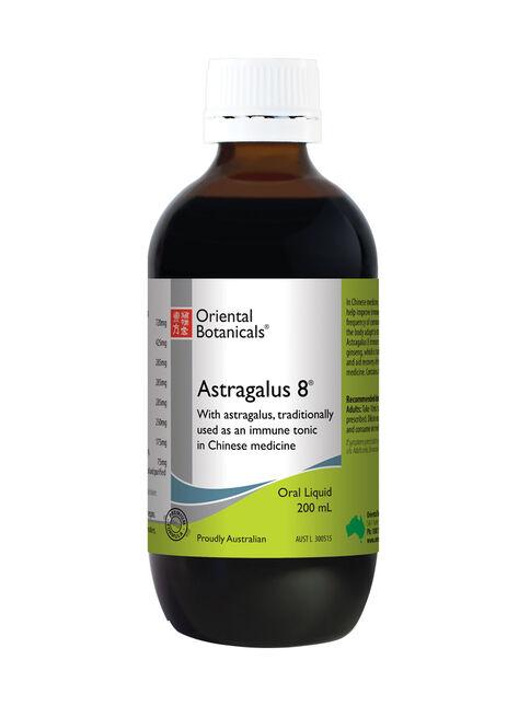 Astragalus 8 Liquid 200mL