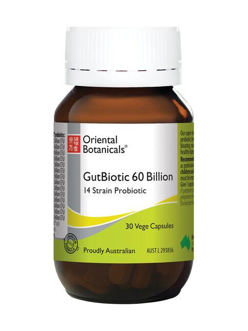 GutBiotic 60 Billion 30 Vege Capsules