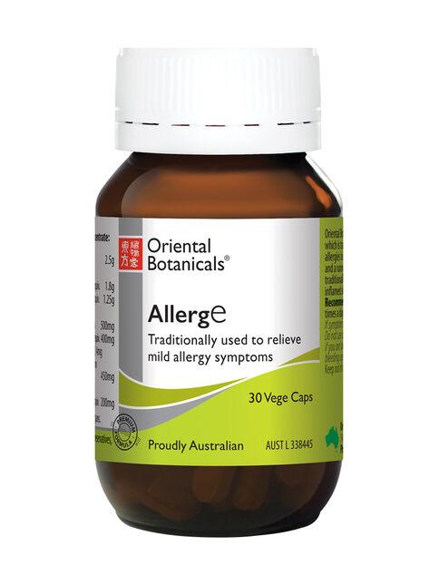AllergE 30 Vege Capsules