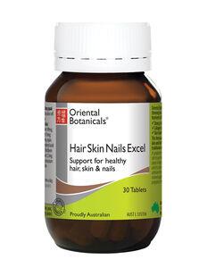 Hair Skin Nails Excel