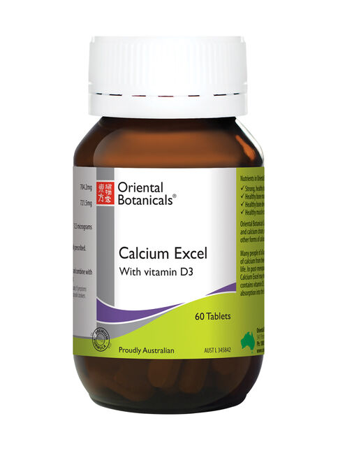 Calcium Excel 60 Tablets