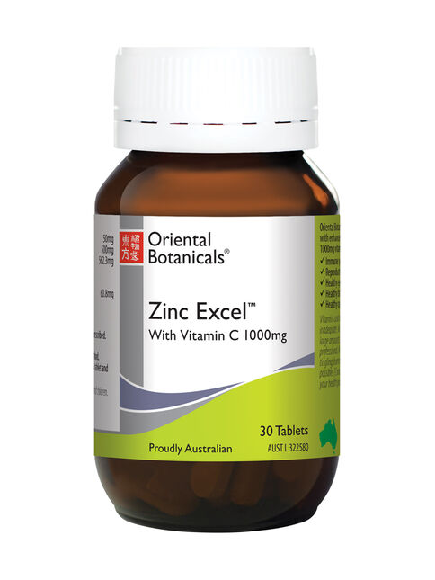 Zinc Excel 30 Tablets