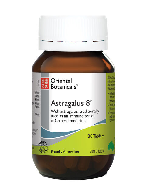 Astragalus 8 30 Tablets