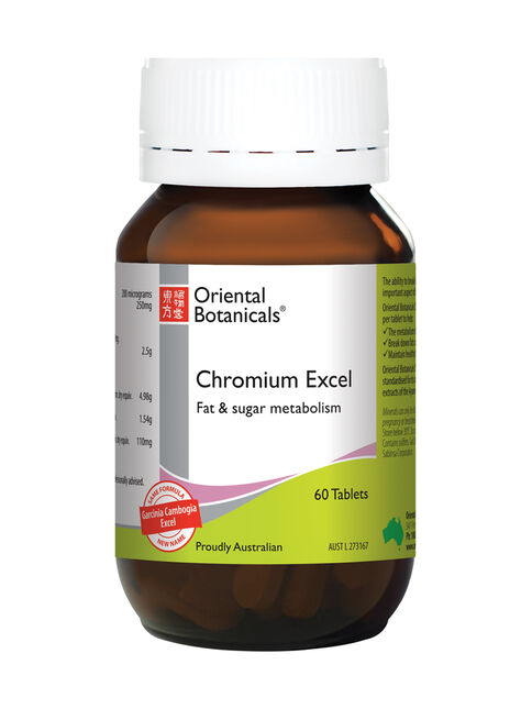 Chromium Excel 60 Tablets