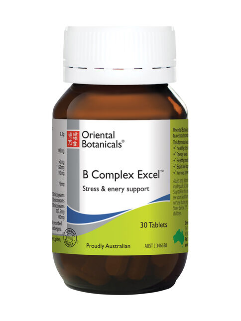 B Complex Excel 30 Tablets