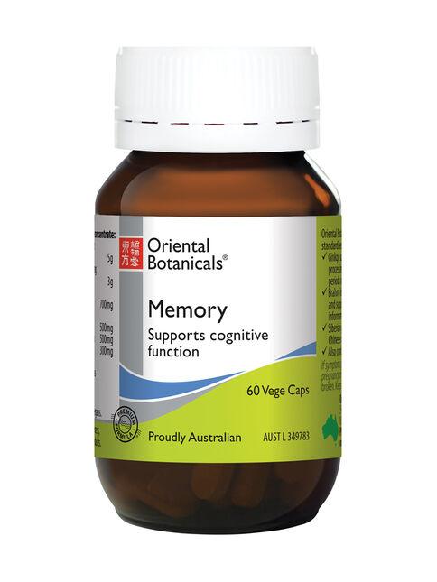 Memory 60 Vege Capsules