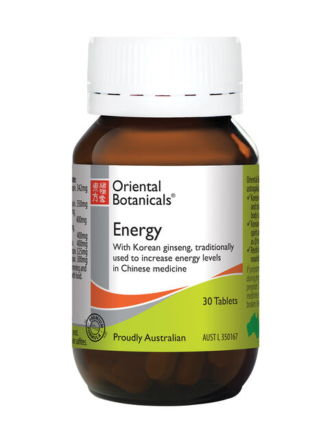 Energy 30 Tablets