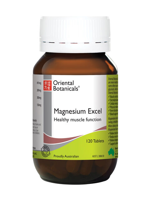 Magnesium Excel 120 Tablets